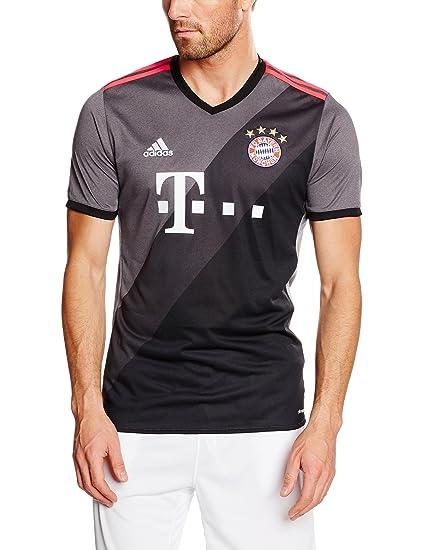 97ad328dc adidas FC Bayern Munich 2016 17 Short Sleeve Away Jersey - Adult - Granite