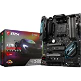 MSI X370 GAMING PRO CARBON Amd Ryzen X370 Ddr4 Vr Ready Hdmi Usb 3 Atx Gaming Motherboard