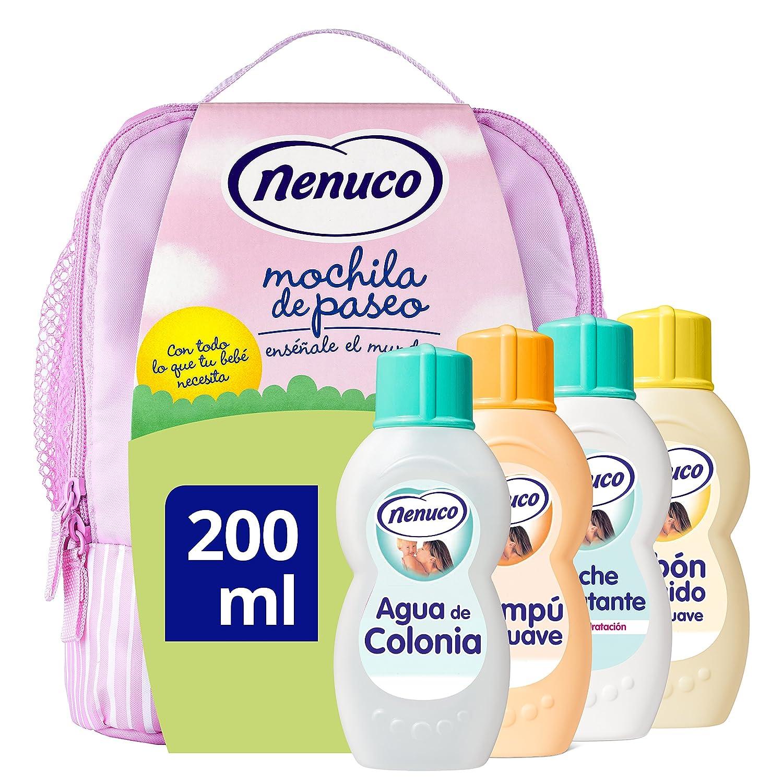 Nenuco Mochila Rosa Eau de cologne + Liquid Soap + Shampoo + Moisturising Milk - 1 Pack 8095484