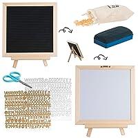 Deals on Letter Board & Dry Erase White Board 340 Letters & Symbols