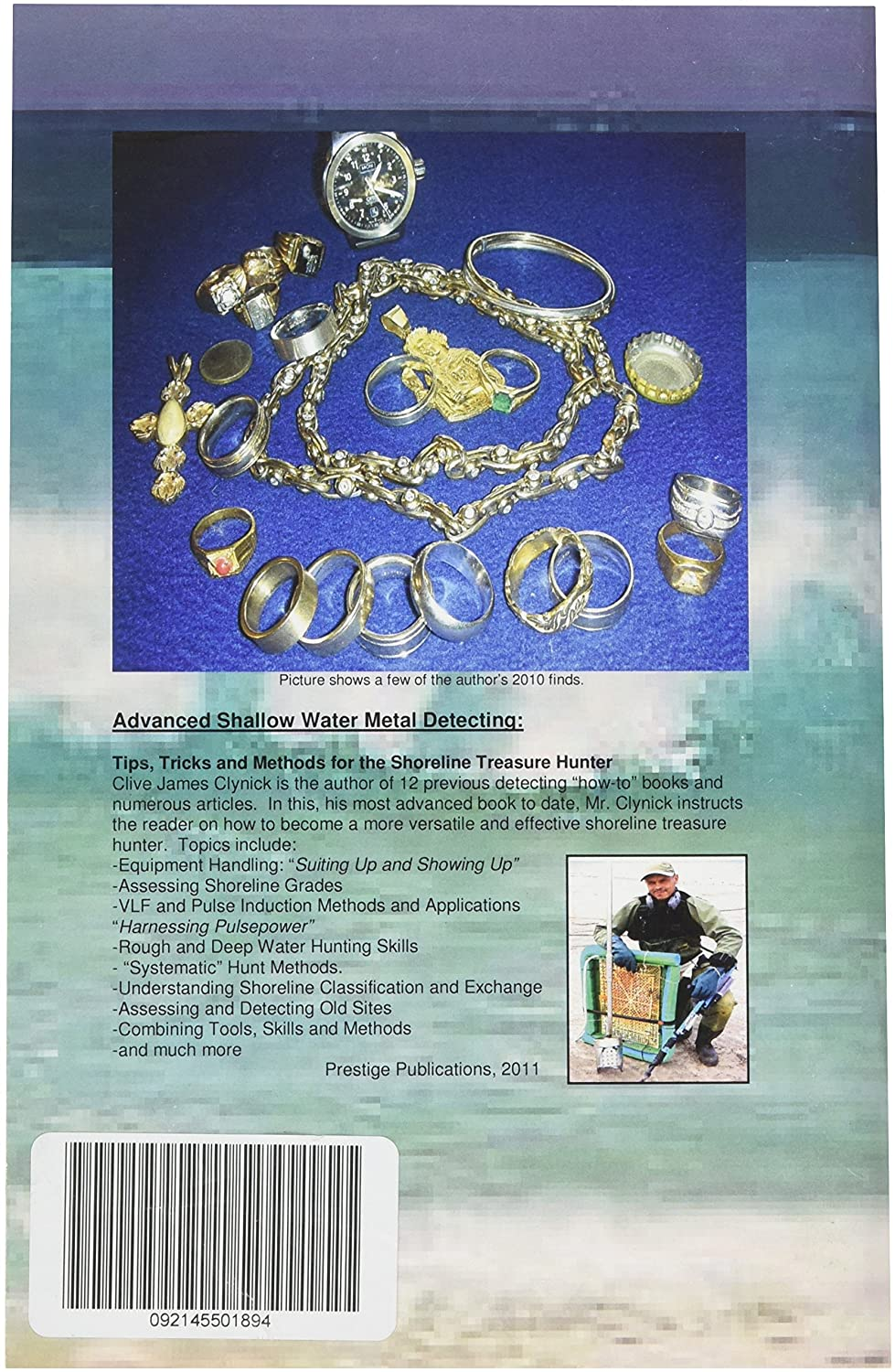 Amazon.com: Advanced Shallow Water Metal Detecting: Tips, Tricks and Methods for the Shoreline Treasure Hunter by Clive Clynick: Garden & Outdoor