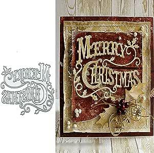 Christmas Snowflake Cutting Dies Metal Die Cut DIY Scrapbooking Paper Card A+