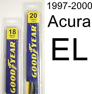 "product image for Acura EL (1997-2000) Wiper Blade Kit - Set Includes 20"" (Driver Side), 18"" (Passenger Side) (2 Blades Total)"