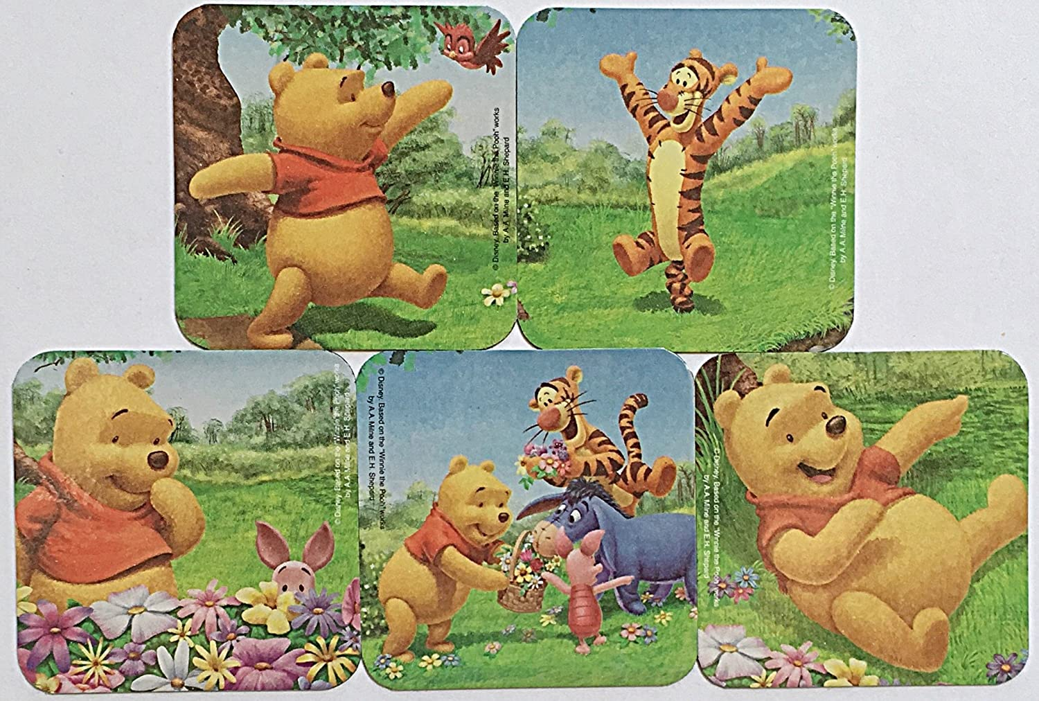 Eeyore Tigger Pooh Bear Pooh Mouse Head Magnets for Cruise Ship Door