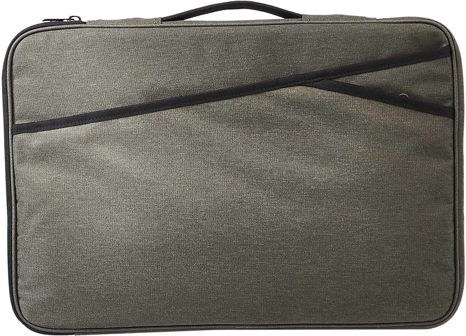 AmazonBasics Laptop Sleeve Case Bag - 17-Inch, Army Green