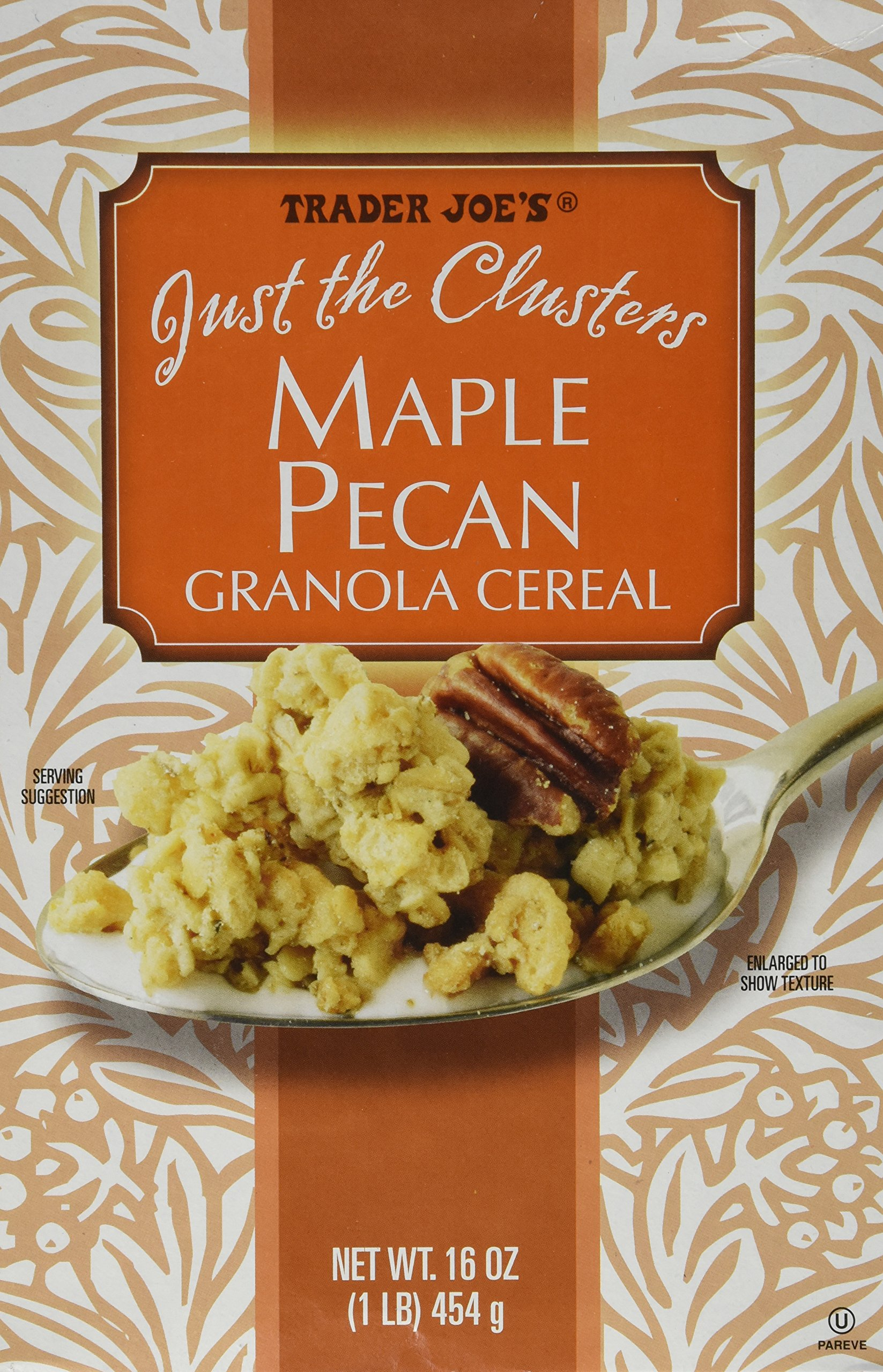 Trader Joe's Just the Clusters Maple Pecan Granola Cereal 16 Oz. by Trader Joe's