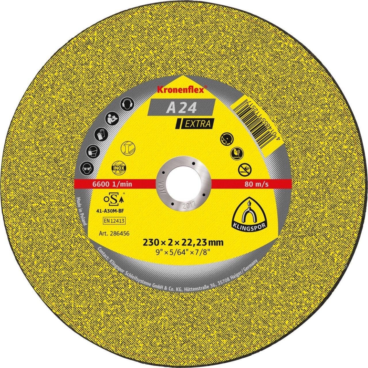 Trennscheiben A 24 Extra, 230x3 mm, 25 Stück B0012ZGGNC | Trendy