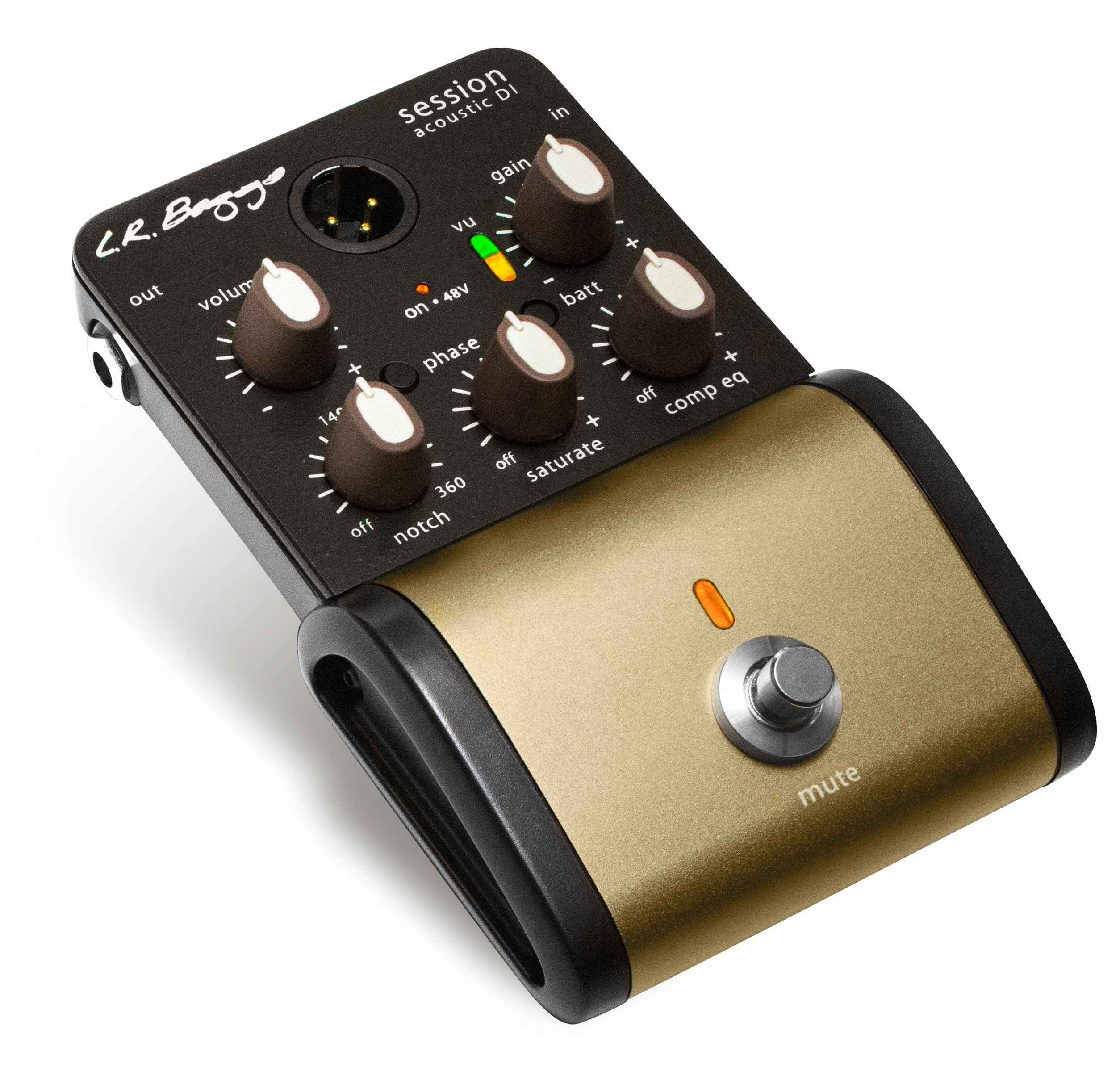 L.R. Baggs SESSION-DI Acoustic Preamp by LR Baggs