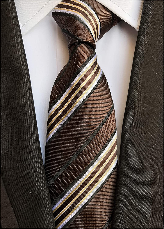 Amazon.com: Corbata de diseño formal para hombre, diseño de ...