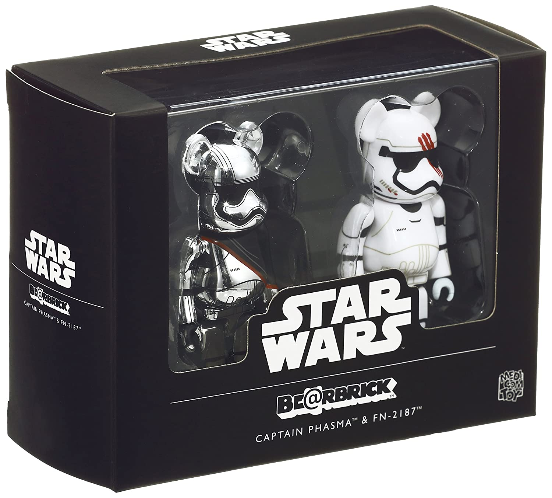 BE@RBRICK 100/% Star wars Captein Phasma /& Stormtroooer 5 body set Medicom Toy