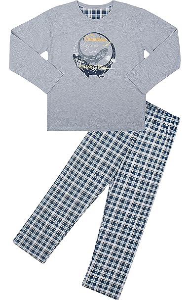 Cornette Pijamas Dos Piezas para Niño CR-553-Young(Mezcla de Color (