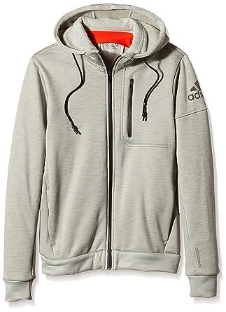 Adidas hombre 's Polyester Hoodie:: ropa & accesorios