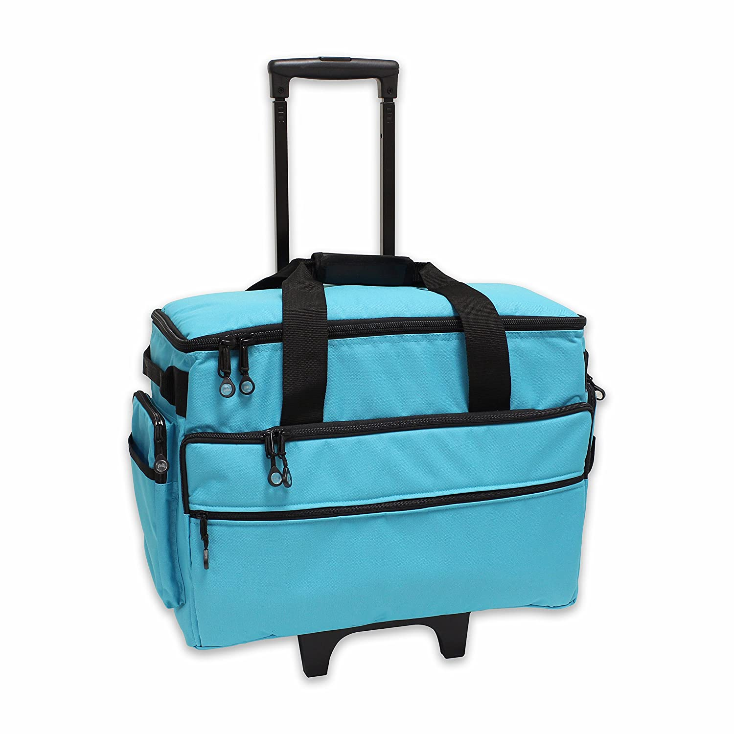 BlueFig TB19 Sewing Machine Carrier/Project Bag/Notion Bag (Aqua) 4336998270