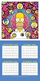 The Simpsons 2020 Calendar - Official Square Wall