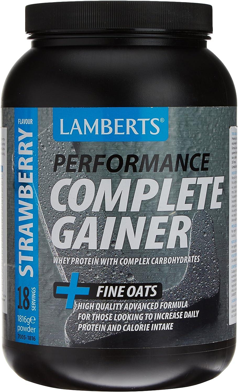 Lamberts Complete Gainer Suplemento para Deportistas, Sabor a ...