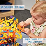 ECR4Kids Junior Connect-a-Cog Connecting Flakes