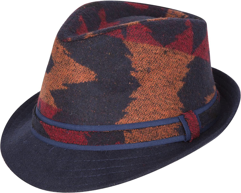 Sakkas Santa Fe Wool Trilby Fedora