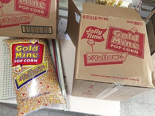 Amarillo Bolsa de Palomitas de maíz, 12,5 Lb: Amazon.com ...