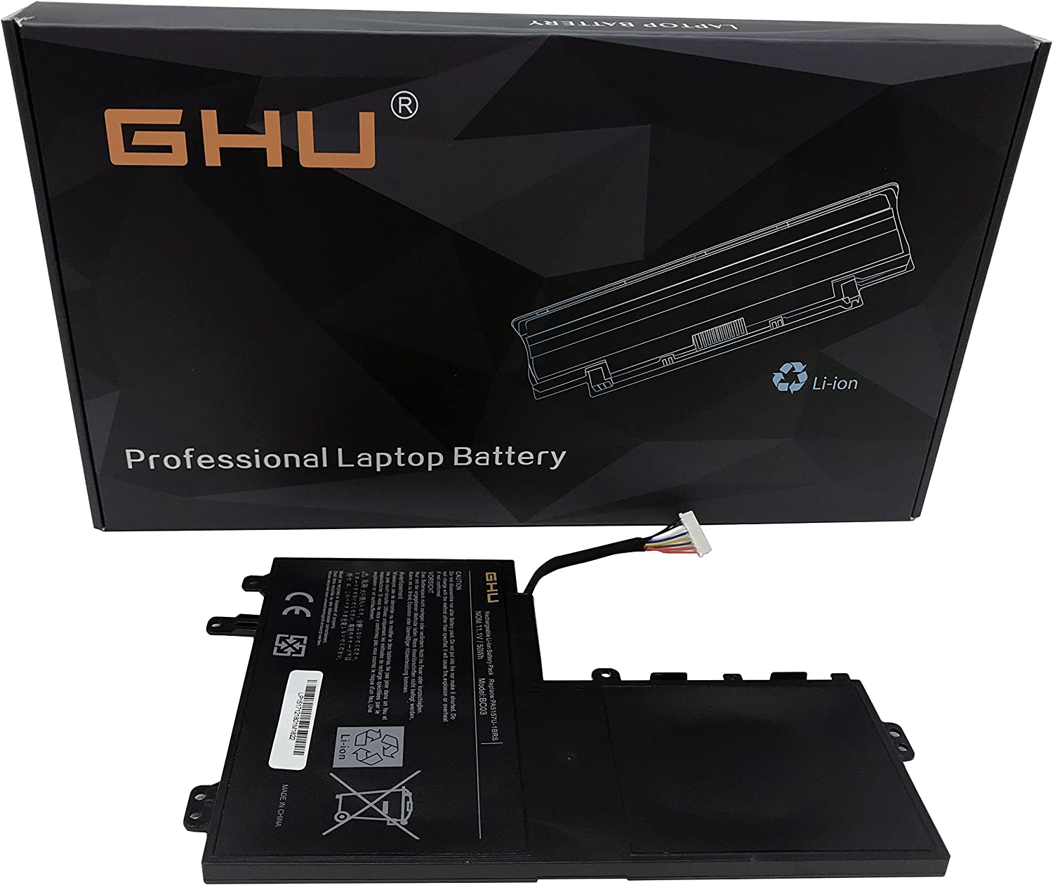 New GHU Battery PA5157U-1BRS Compatible with Toshiba Satelite U940 E45T E45T-A4100 E45T-A4200 E55 E55T-A5320 E55T-A5114 P000577250