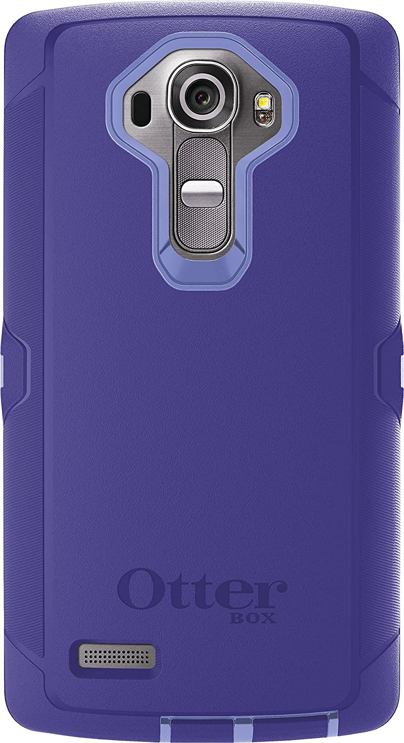 OtterBox Defender Case for LG G4 - Retail Packaging - Periwinkle Purple/Liberty Purple