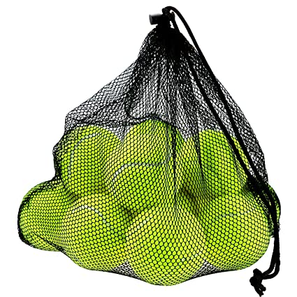 Philonext 12 PCS pelotas de tenis con bolsa de malla de transporte ...