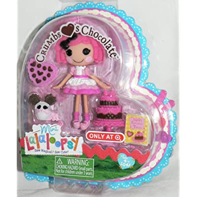Mini Lalaloopsy Crumbs Sugar Cookie Valentine: Toys & Games