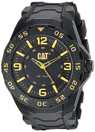 CAT WATCHES Mens LB11121137 Motion Analog Display Quartz Black Watch
