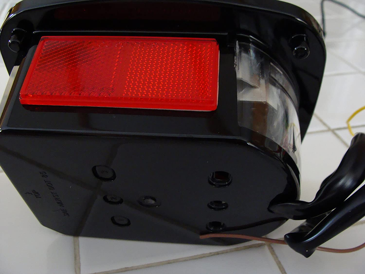 Jeep Tj Cj Yj Replacement Tail Lights W Bright Red Leds 89 Light Wiring Diagram Automotive