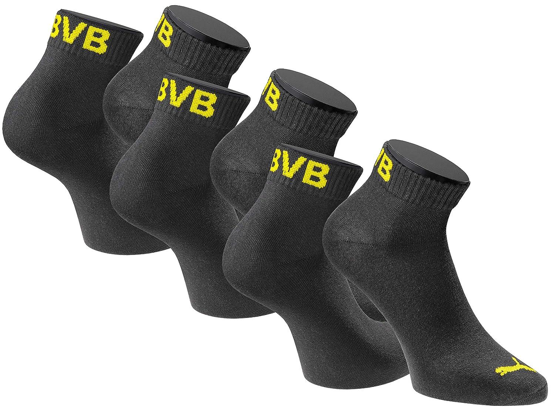 BVB Herren Sneaker Socken Set Sneaker Socken Set, gelb