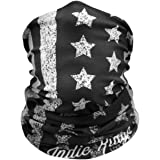 American Flag Outdoor Motorcycle Face Mask By Indie Ridge - Ski Snowboard Mask Seamless Headwear