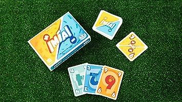Tranjis Games - ¡Mia! ¿Te sumas o te restas? - juego de cartas (TRG-08mia)