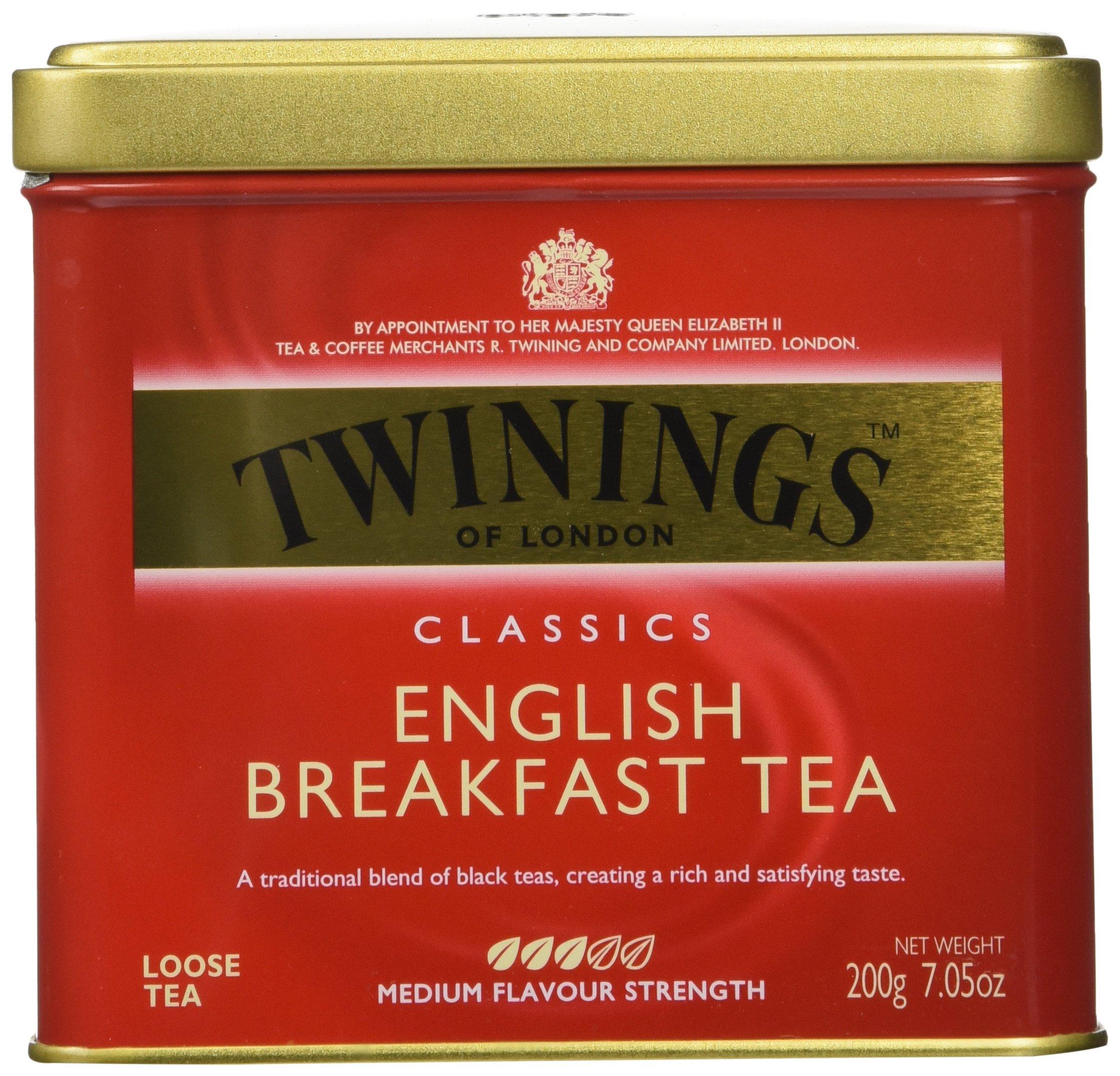 Twinings English Breakfast Tea, Loose Tea, 7.05 oz Tins by Twinings (Image #1)