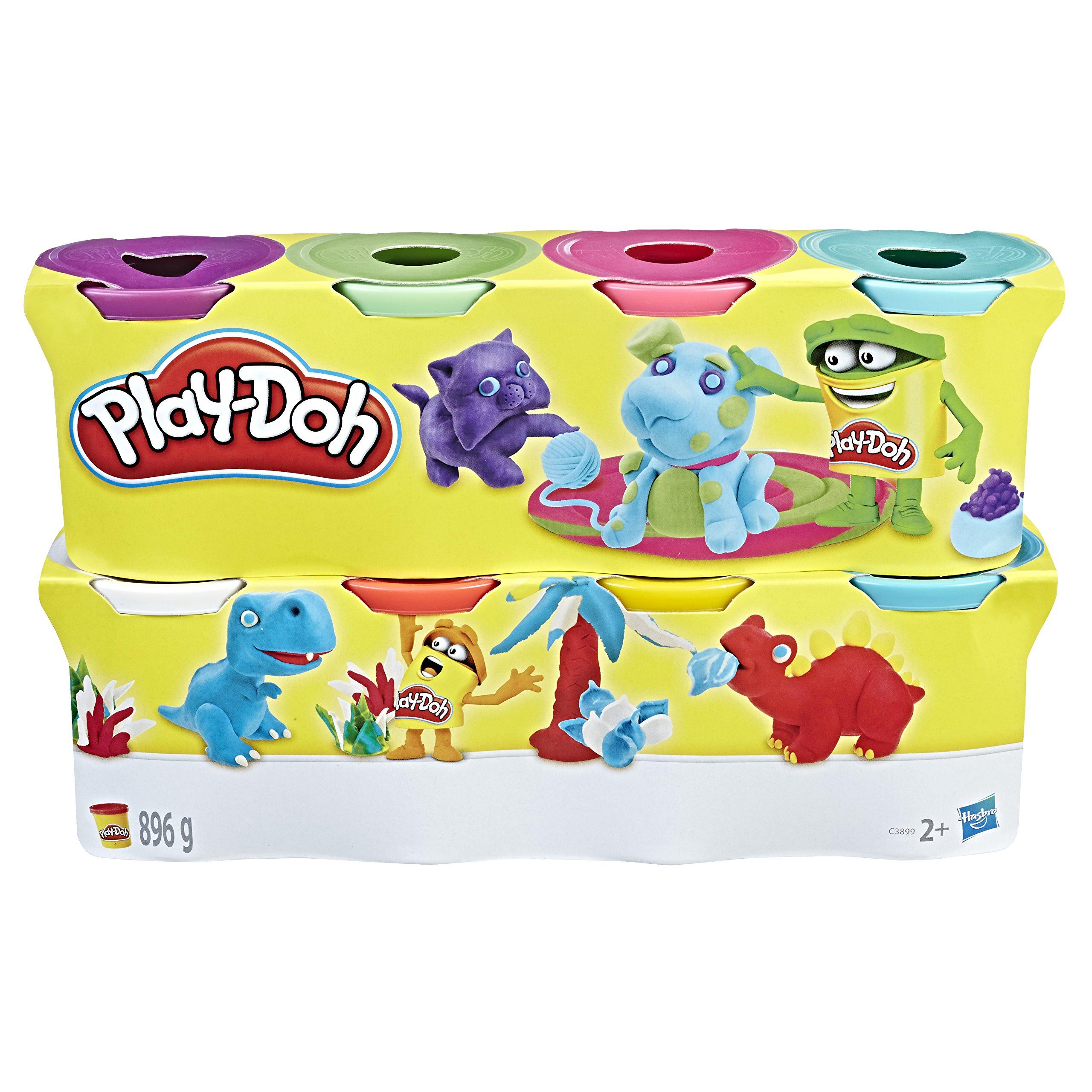 Play-Doh - C3899EU40 - Pâte à Modeler - 8 Pots product image
