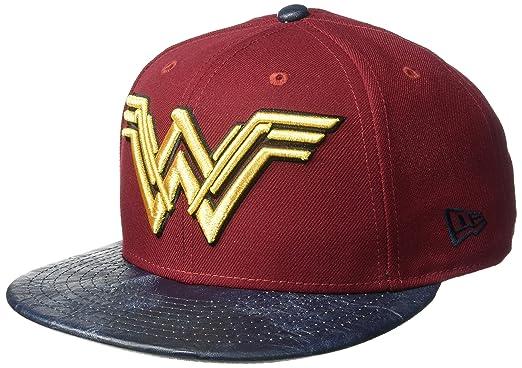 New Era Men s Justice League Wonder Woman 9FIFTY Snapback Cap Baseball 94e077e8dca7
