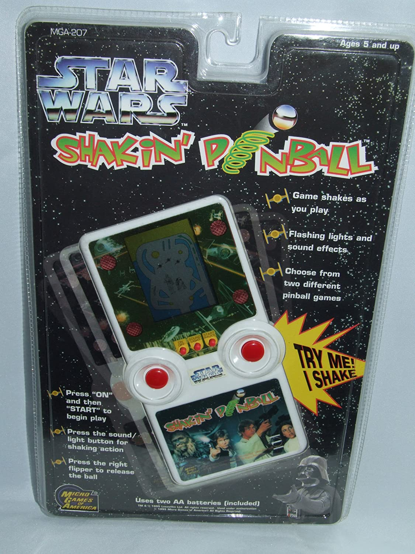 人気満点 STAR WARS ELECTRONIC HANDHELD SHAKIN PINBALL GAME B006AT3KYS, 愛南町 a6ead243