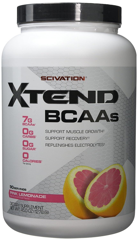 Scivation, Xtend BCAAs, Pink Lemonade, 90 Servings