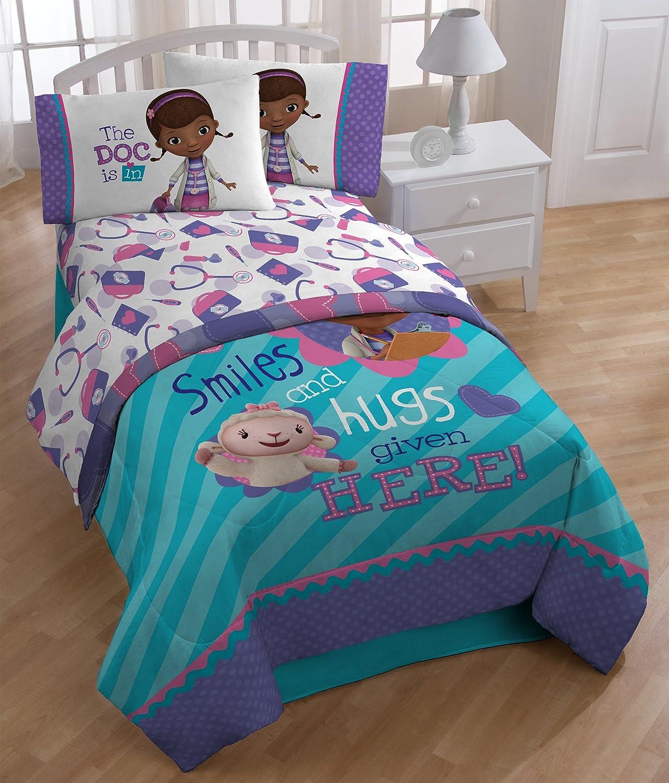 Amazon.com: Disney Doc McStuffin Sheet Set, Full: Home & Kitchen