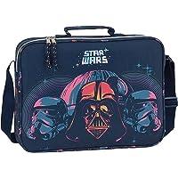 safta 612001385 Bolso Maletín Cartera Extraescolares Star Wars, Multicolor