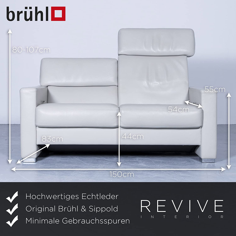 Wunderbar Brühl Und Sippold Beste Wahl Conceptreview: Brühl & Designer Sofa Grau Leder