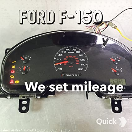 2007 ford f150 dash cluster