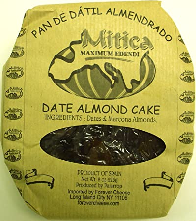 Spanish Date and Marcona Almond Cake - 1 x 8 oz