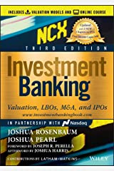 Investment Banking: Valuation, LBOs, M&A, and IPOs (Wiley Finance) Kindle Edition