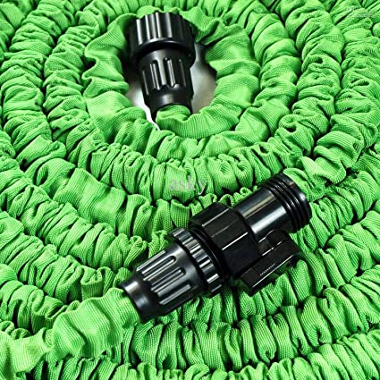 expandable and flexible garden hose 25 50 and 75 foot expanding or collapsible hose - Flexible Garden Hose