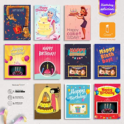 Amazon Birthday Cards 4D Flash Augmented Reality