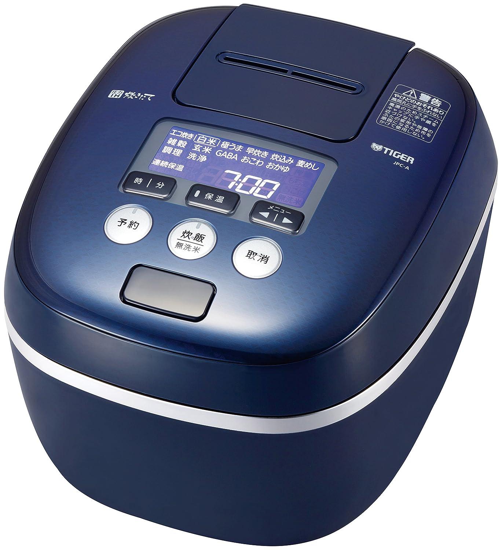 TIGER IH pressure rice cooker (5.5 Go cook) TAKITATE JPC-A100-KA (Blue Black)