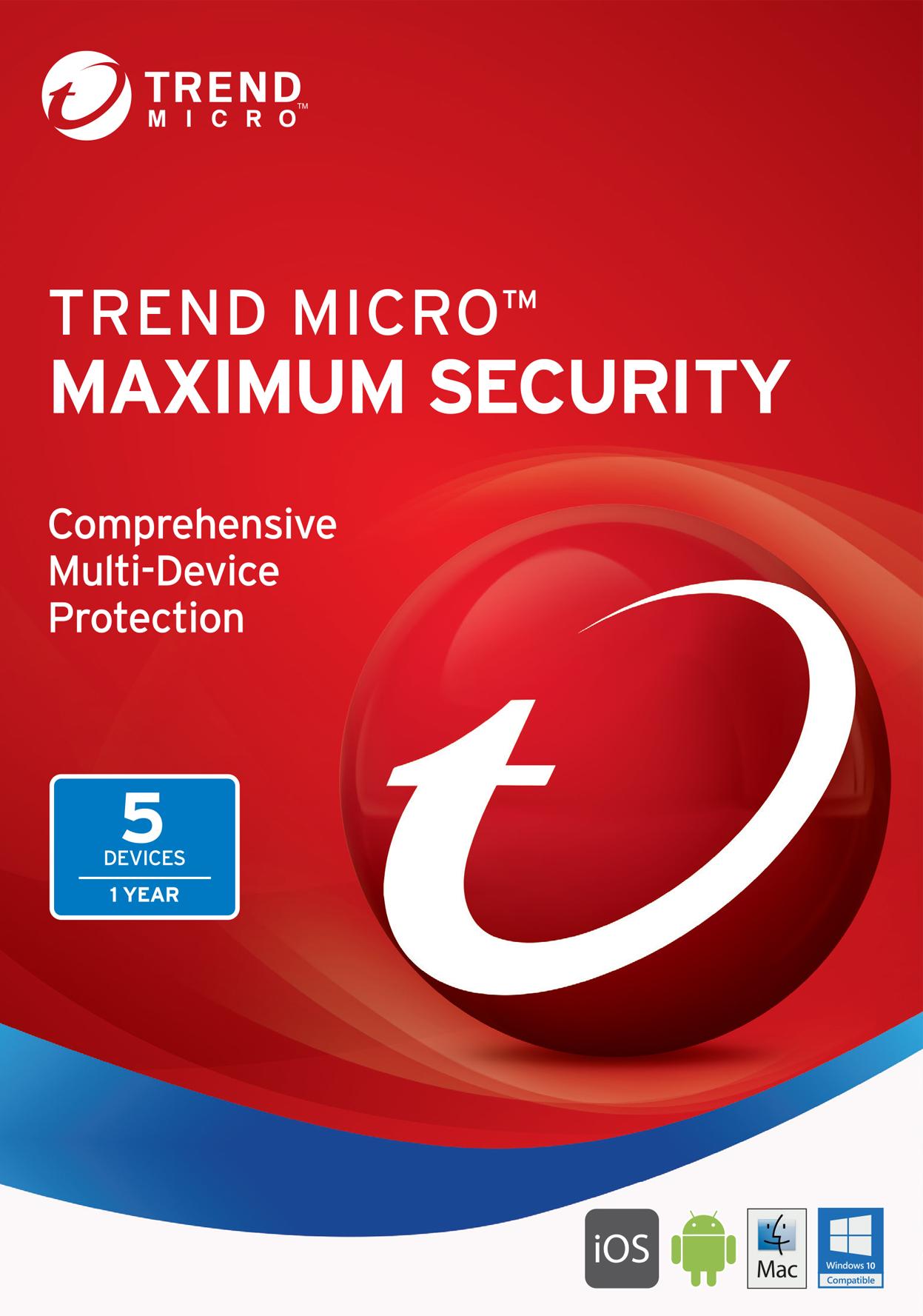 Trend Micro Maximum Security 2017  Download