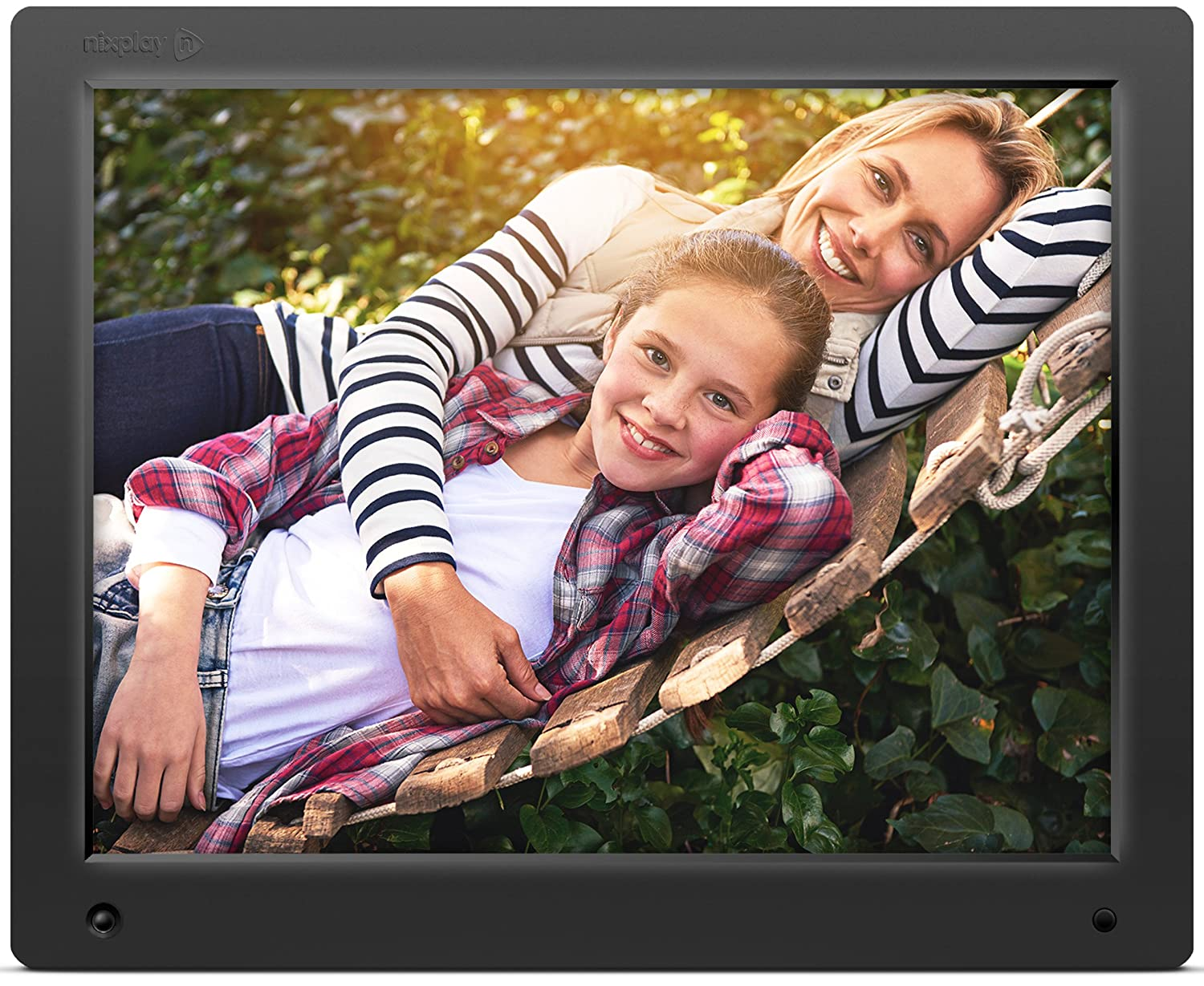 Amazon nixplay original 15 inch wifi cloud digital photo amazon nixplay original 15 inch wifi cloud digital photo frame iphone android app email facebook dropbox instagram picasa w15a camera jeuxipadfo Images