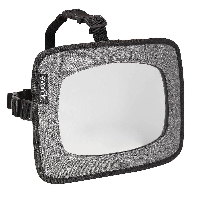 Evenflo Backseat Baby Mirror for Rear Facing Child, Grey Melange 630431