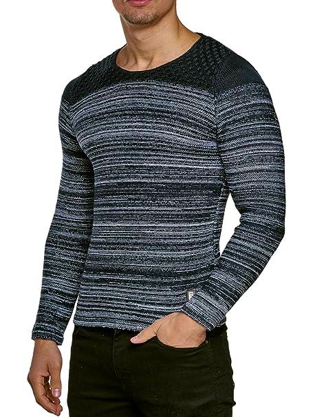 Jersey Jersey De Punto Hombre Tejer Invierno Chaqueta de punto Carisma CRSM Manga larga Clubwear Camisa Manga Larga Sudadera Camisa Suéter Kosmo Estilo ...