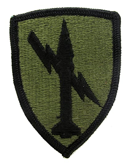 US Army Missile Command Subdued Patch